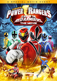 Ver online: Power Rangers Clash Of The Red Rangers (2012)