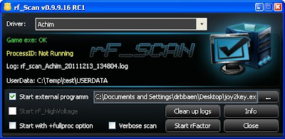 rF Scan anticheto rFactor nueva version