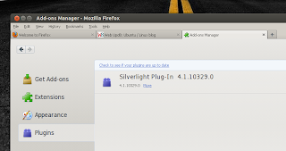firefox ubuntu silverlight