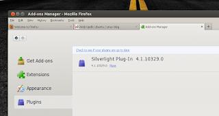 firefox ubuntu silverlight