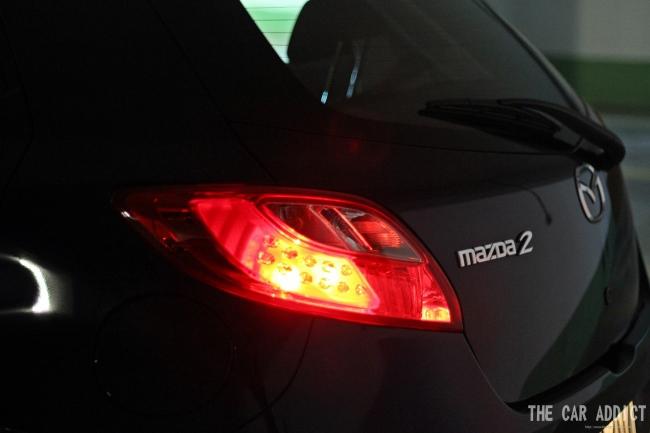 Mazda2 1.6 Sport-Line (Stormy Blue)