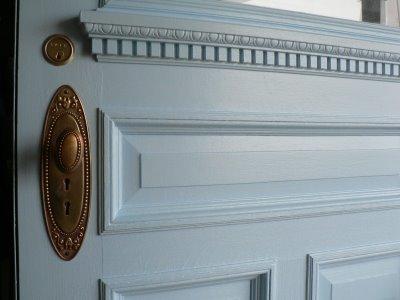 Comment nettoyer des portes en bois peintes en blanc - Nettoyer une porte en bois ...
