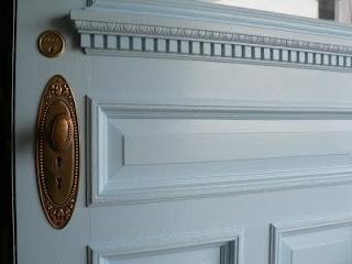 nettoyer les portes en bois peint