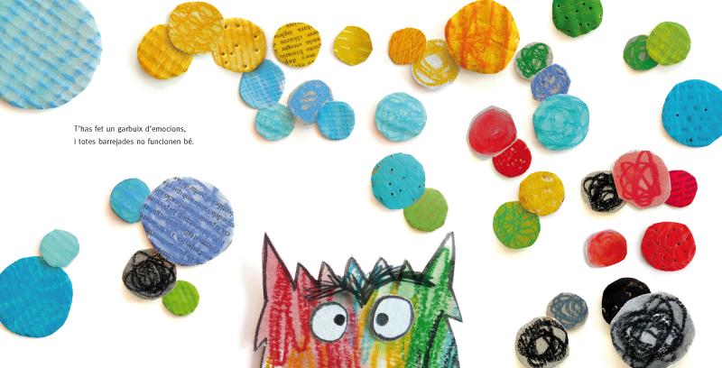 CUENTOS PARA EDUCAR EN VALORES: El monstruo de colores de Ana Llenas ...