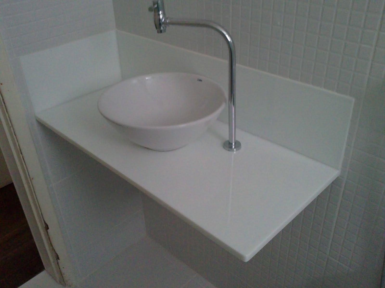 Ângulo Mármores e Granitos: Bancadas de Banheiro Nanoglass #5C626F 1600x1200 Banheiro Com Granito Branco