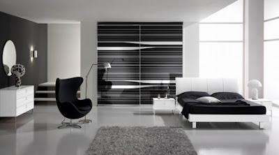 Muebles de habitaciones modernas
