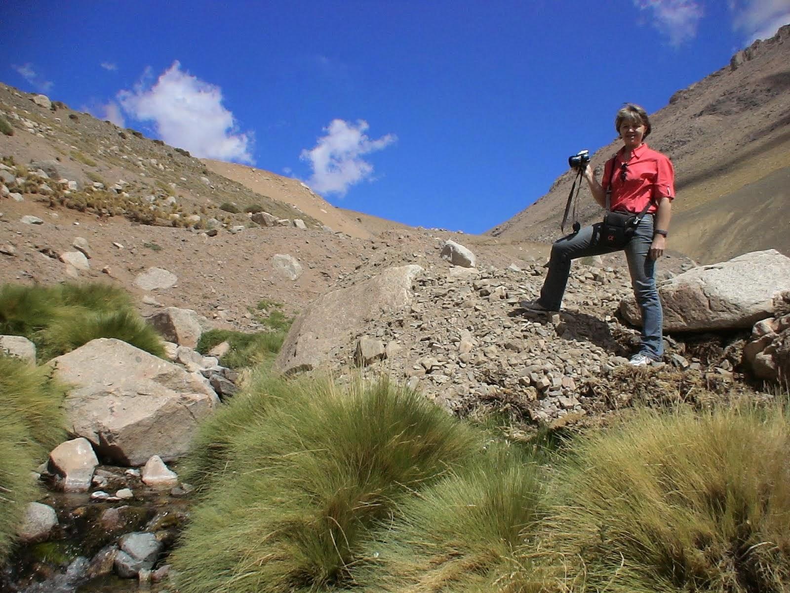 Fotografando nos Andes
