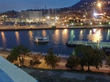 La ría de Bilbao desde San Mamés