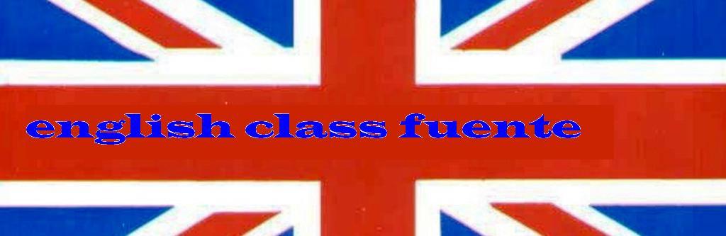 english class fuente