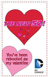 New 52 Valentine's Day card from Young Romance #1