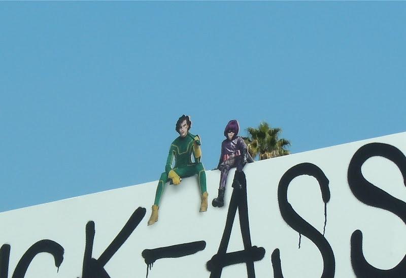 Kick-Ass movie billboard