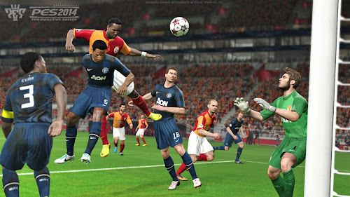 Screen Shot Of Pro Evolution Soccer 2014 (2013) Full PC Game Free Download At Downloadingzoo.Com