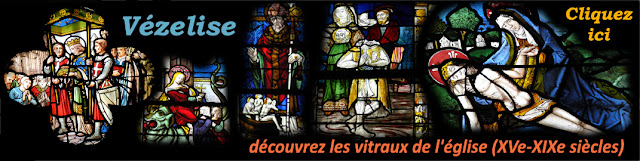 VEZELISE (54) - Vitraux de l'église Saint-Côme et Saint-Damien