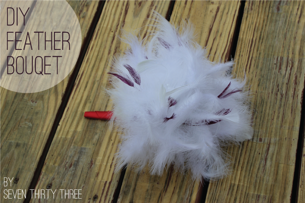 DIY Feather Bouquet