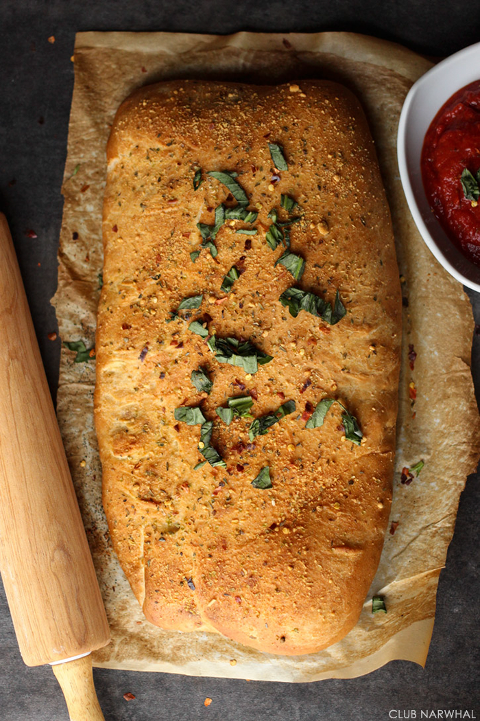 Easy Sausage Stromboli | The perfect game day snack!