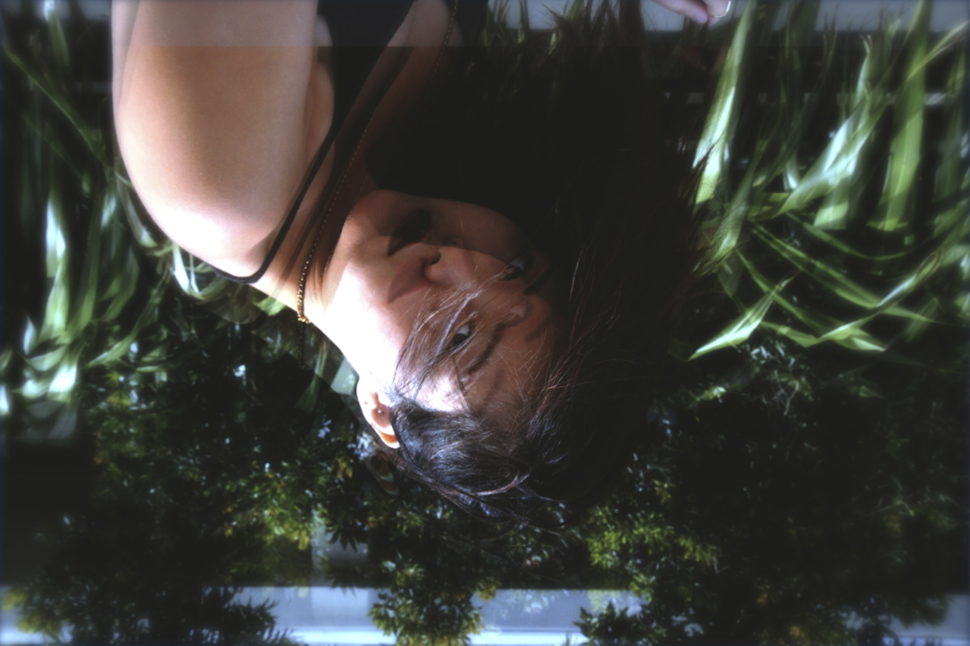 double exposure upside down photography by Anthea from épique