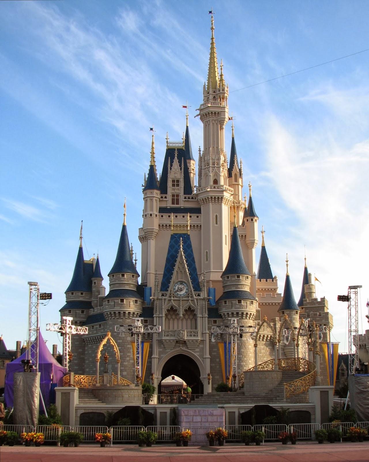 Cinderella Castle vs new swan stone