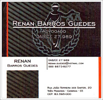 ADVOGADO DR. RENAN  BARROS GUEDES