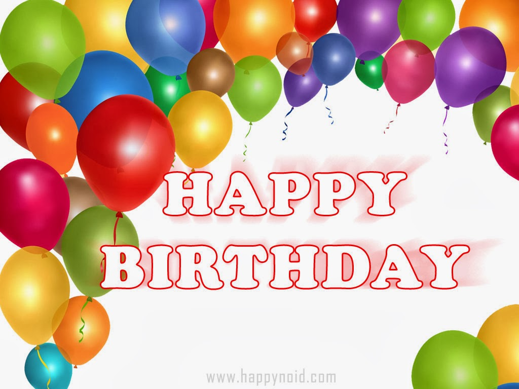 Birthday Wishes With Balloons : Pin by marjo engels on happy birthday  Pinterest