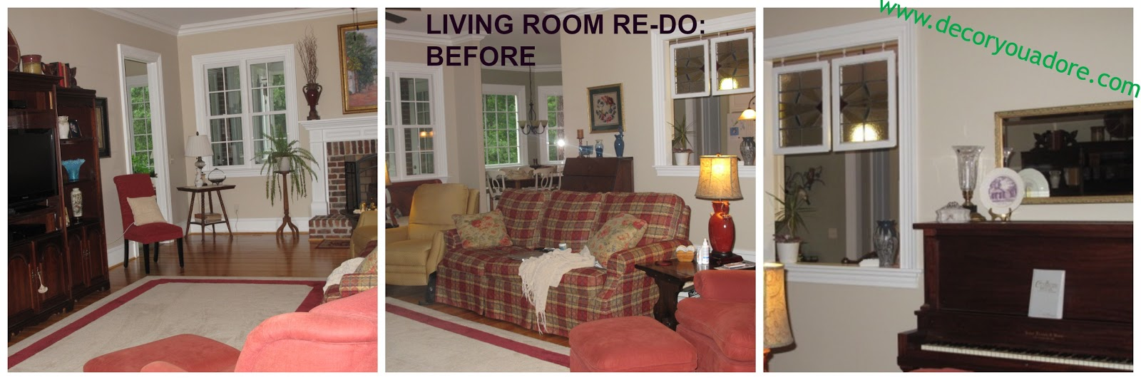 Decor You Adore Family Room Interior Redesign Working
