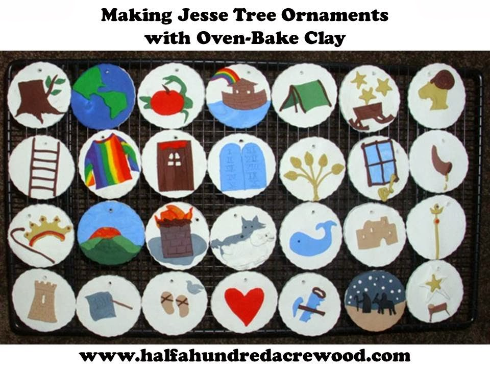 picture relating to Jesse Tree Symbols Printable known as Traditions: Jesse Tree Introduction Ornaments : 50 percent a Hundred