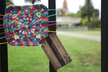 Granny Square Fence Photos