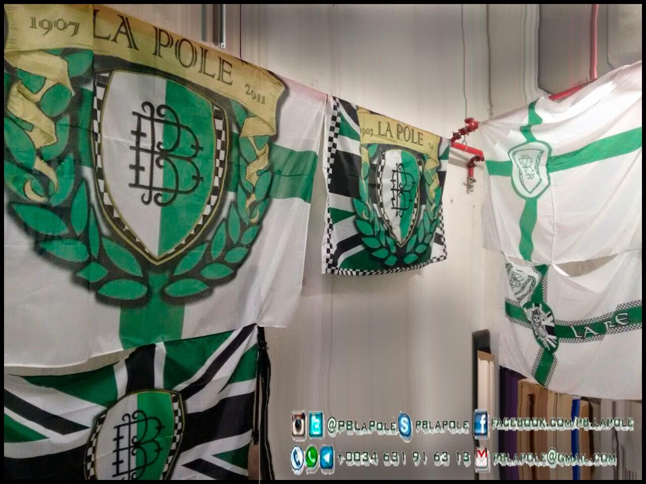 Banderas Peña Betica La Pole
