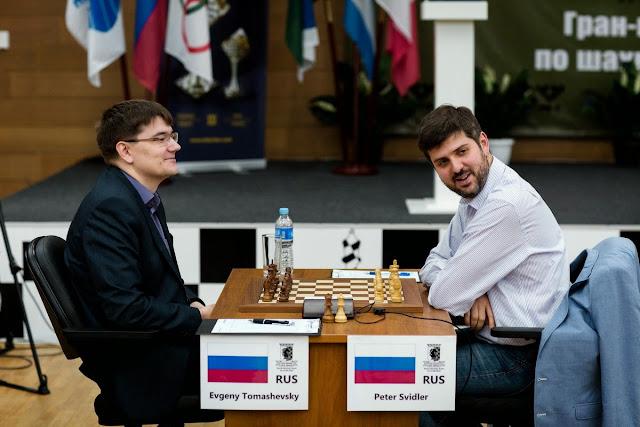 Grand Prix Khanty-Mansiysk. Svidler - Tomashevsk.