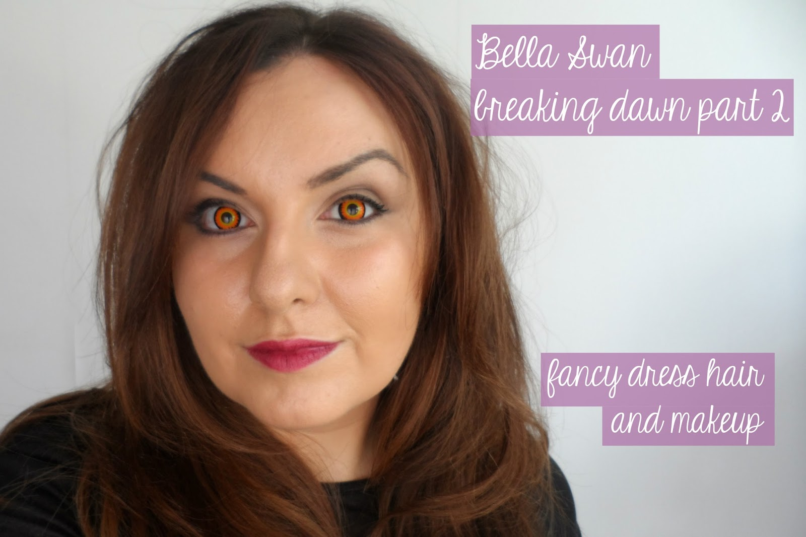 Twilight bella vampire makeup