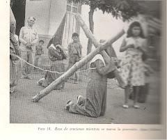 "Semana Santa en ""Aguas Calientes"", 1954:"