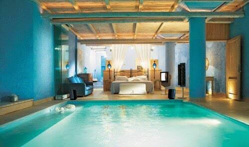 havuzlu yatak odası