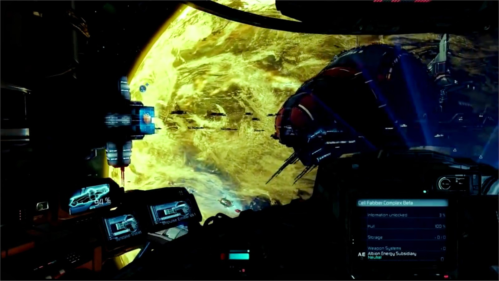 X Rebirth Cockpit
