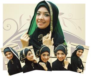 Cara Memakai Jilbab Untuk Wajah Tirus dan Oval