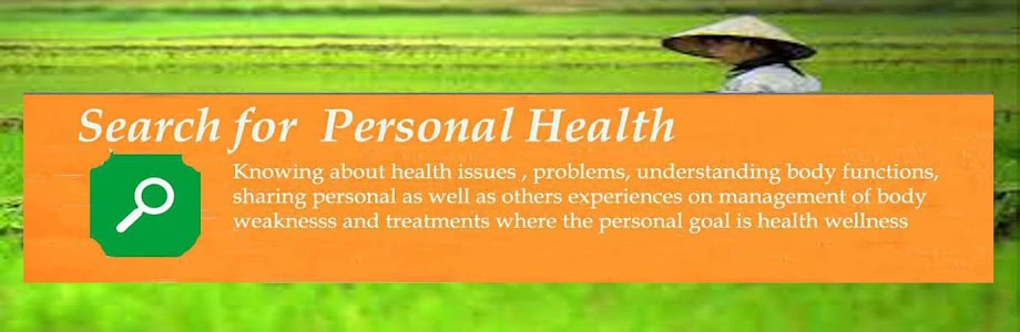 Search for Personal Health