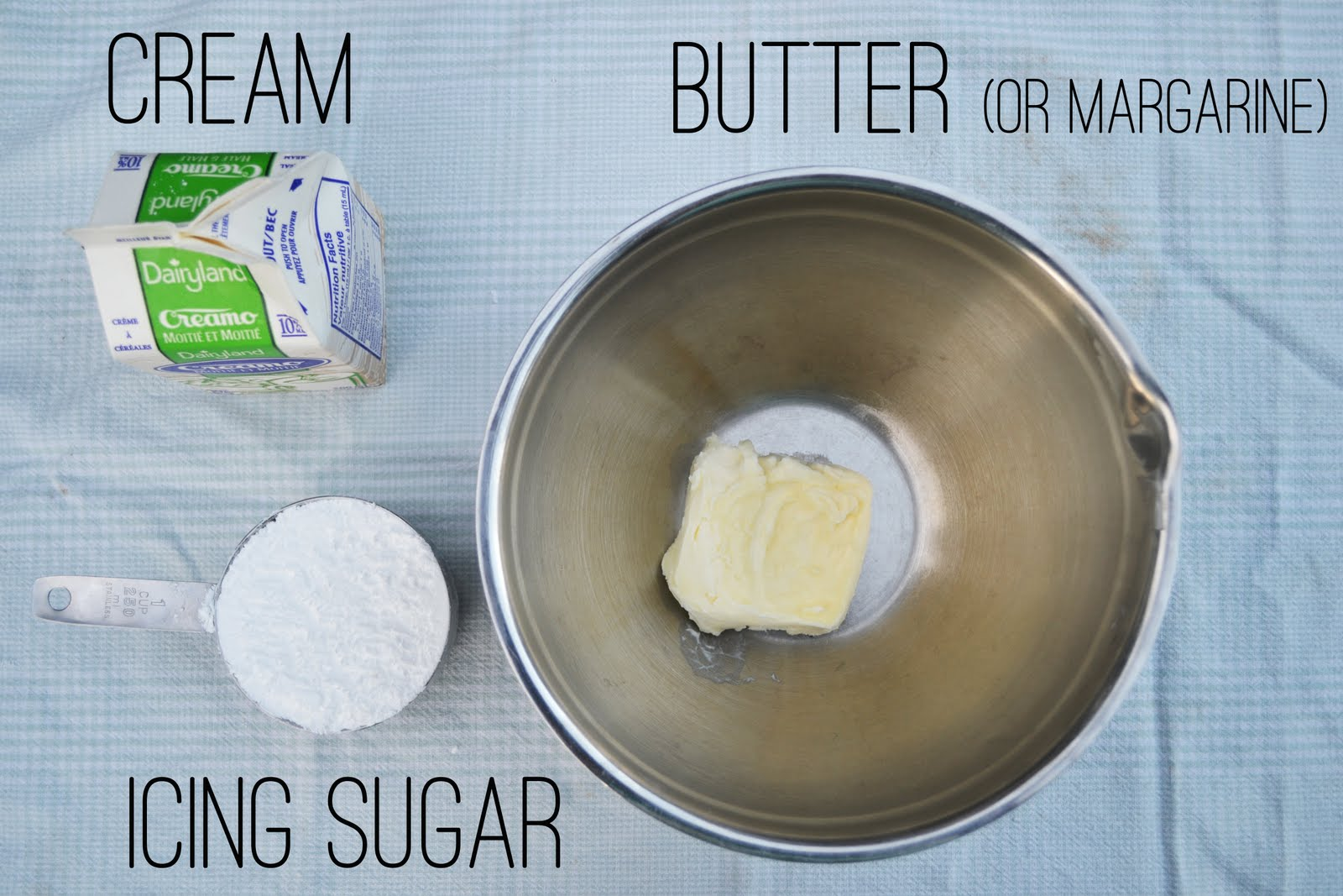 back to basics: buttercream icing