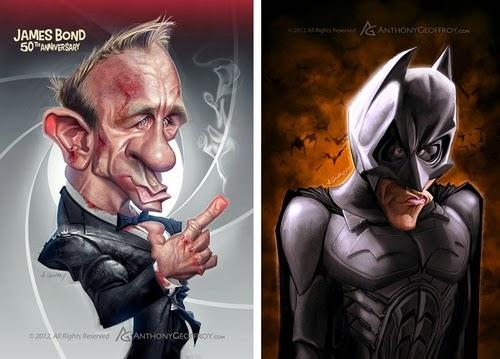 00-Daniel-Craig-James-Bond-007-Christian-Bale-Batman-Buce-Wayne-Anthony-Geoffroy-Caricature-Illustrations-Comics-www-designstack-co