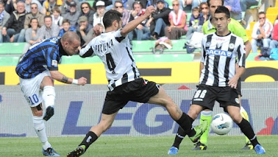 Udinese Inter 1-3 highlights
