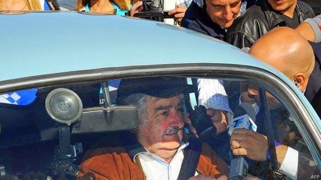 """José Mujica, el """"presidente más pobre del mundo"""""""
