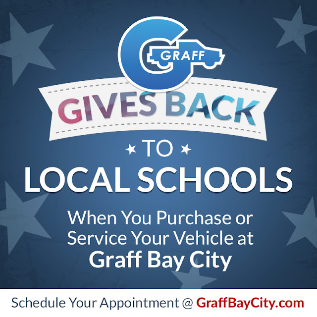 Graff Gives Back to Local Schools in January
