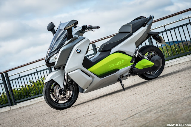 My E-Life Now !: BMW C Evolution : The first Vectrix VX1 rival ? on
