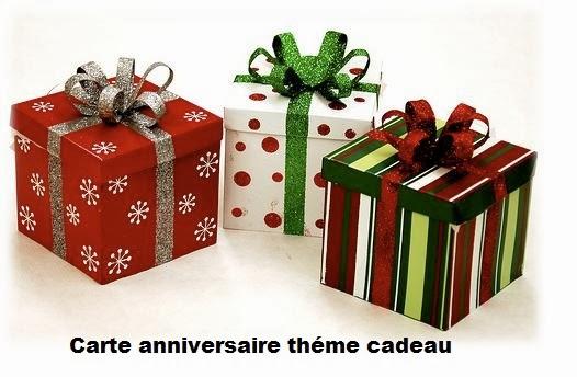 Carte anniversaire theme cadeau texte anniversaire sms - Theme anniversaire 1 an ...