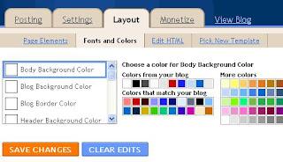Mengatur Font dan Warna