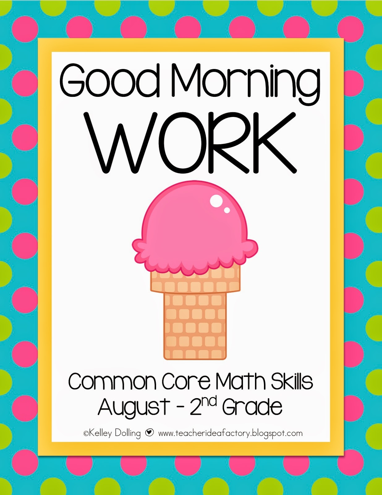 teach 3rd grade?? No worries . . . I have Back to School Morning Work ...