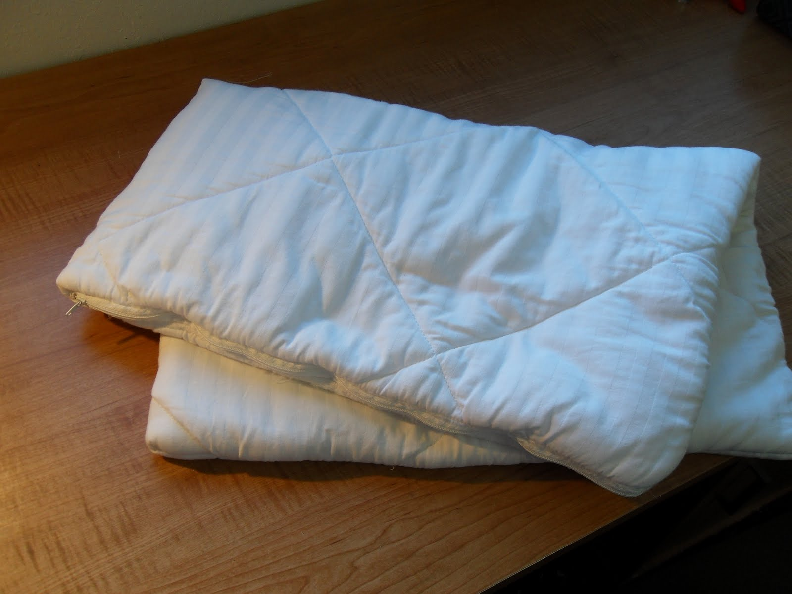 Hill house homestead my 39recycled reused39 dust mite for Best dust mite pillow covers