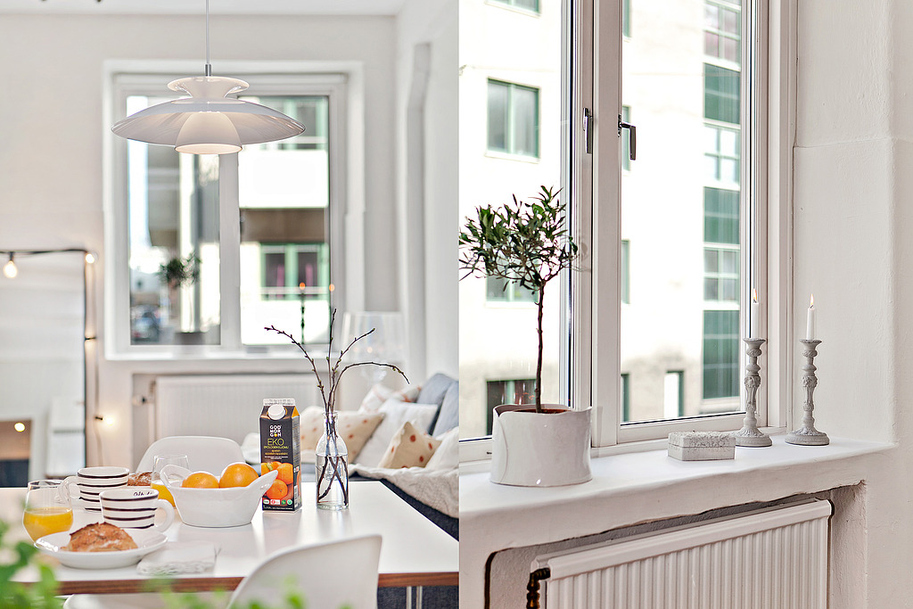 Apartamento nórdico 63 m2, HomePersonalShopper. 60 m2, casa pequeña, decoración nórdica, estilo nórdico, acogedor, planta abierta, decoración