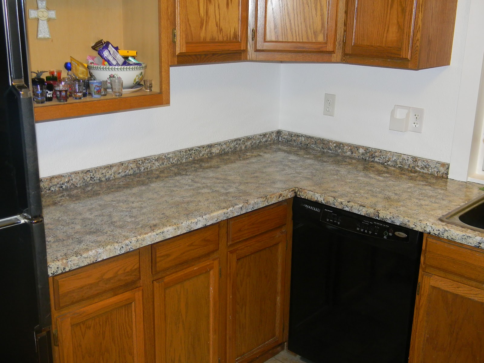 Giani Countertop Paint Walmart : See my new Kitchen! I love my new Giani Countertops!