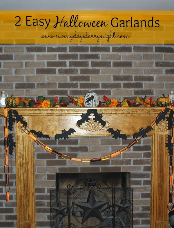 halloween garland DIY
