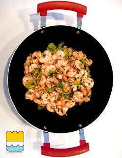 1q84  - la ricetta di tengo (funghi, sedano, gamberi, sakè...)