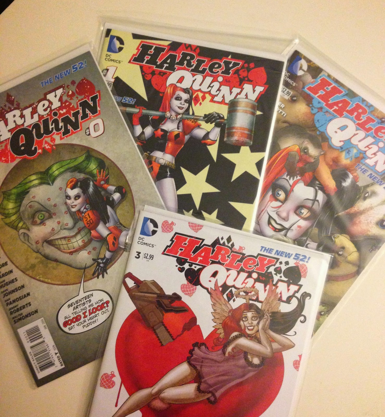 harley quinn comic book batman