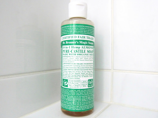 Dr Bronner's Organic Almond Castile Liquid Soap Review